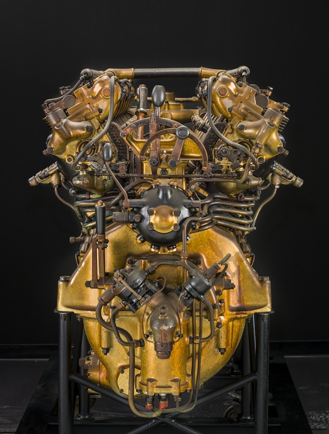 Maybach VL-2, V-12 Engine