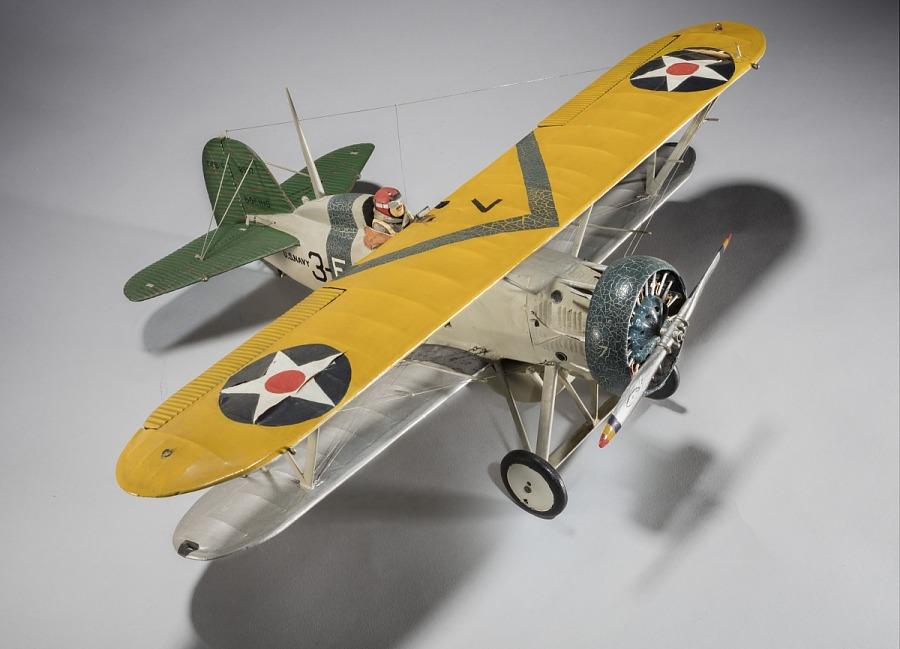 Model, static, Boeing F4B-4
