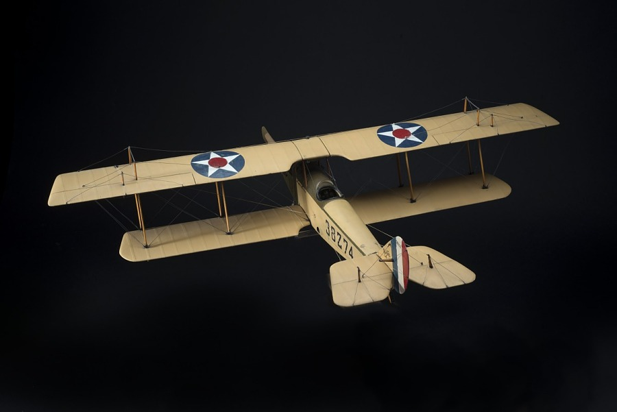 Model, Static, Curtiss JN-4H Mailplane