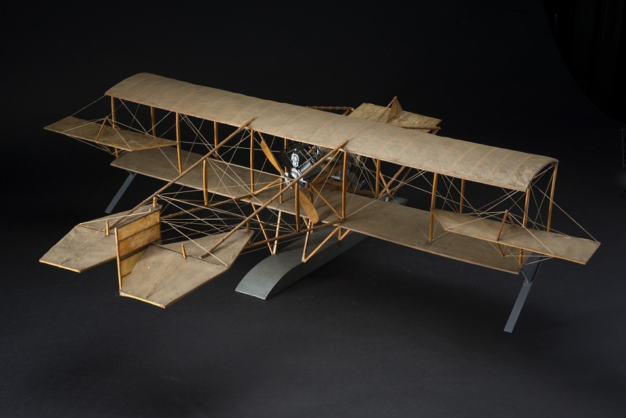 Model, Static, Curtiss Hydroaeroplane
