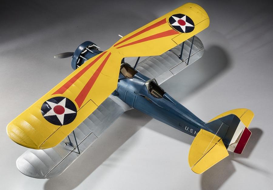 Model, Static, Vought O3U-2 (SU-1) Corsair