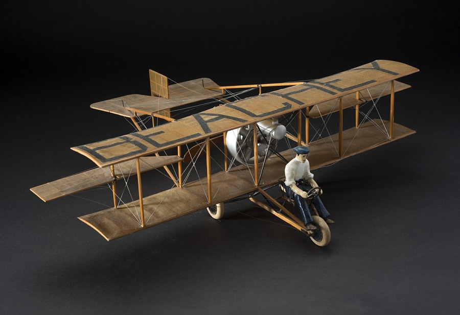 Model, Static, Curtiss 1914,