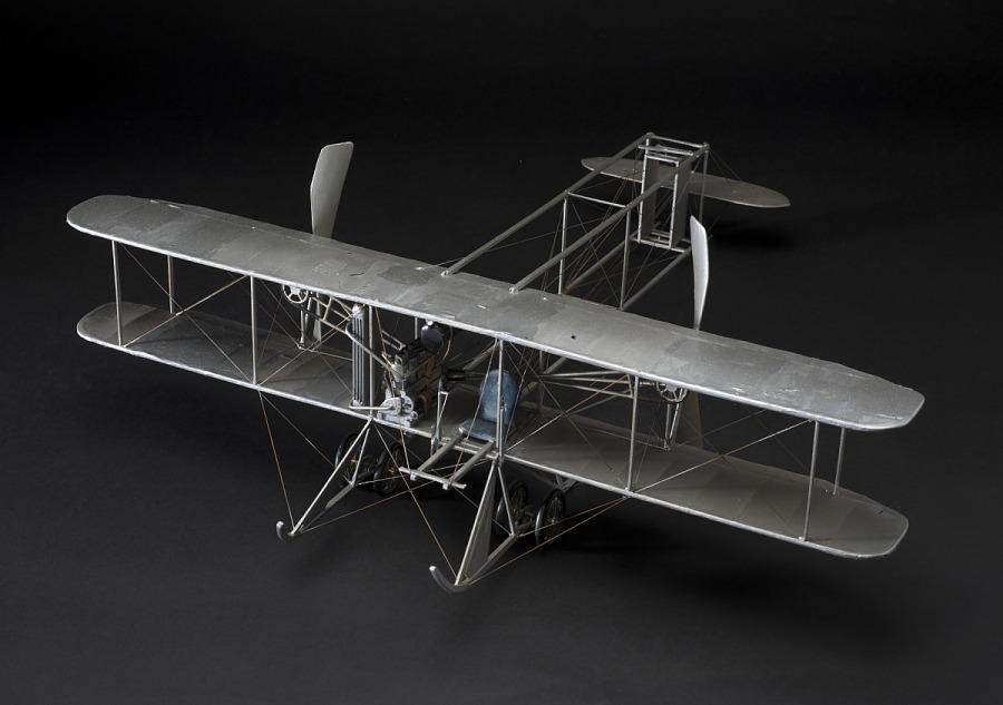 Model, Static, Wright 'R', 1910