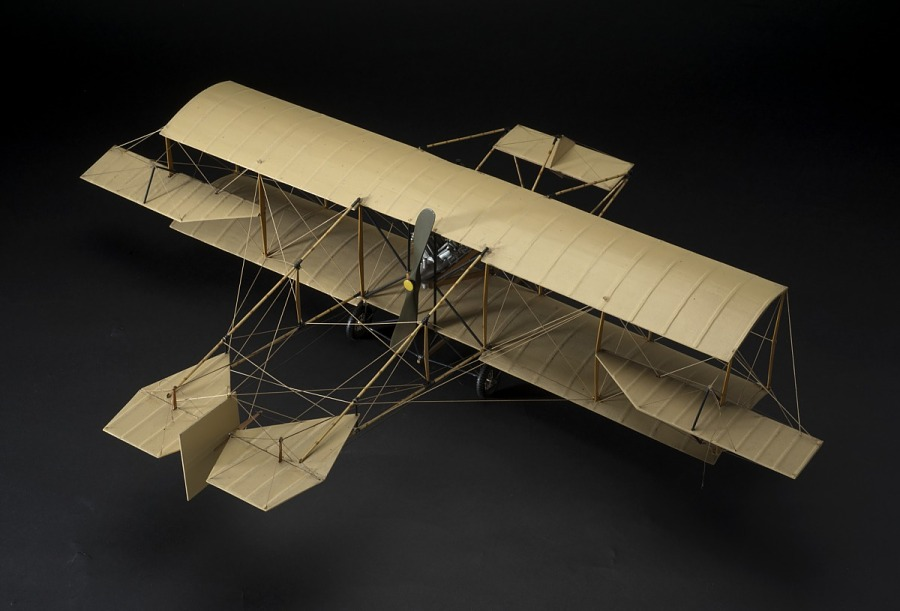 Model, Static, Curtiss D, 1910