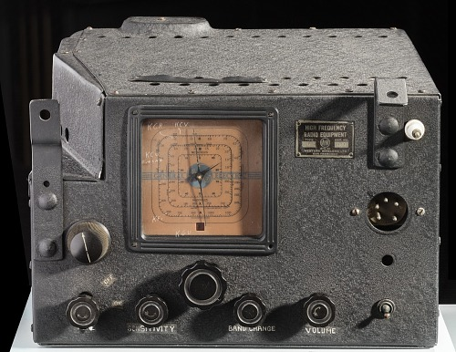 Receiver, Western Wireless, Type 7, Earhart, 1935 Pacific Flight