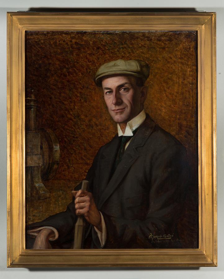Wilbur Wright October 1908