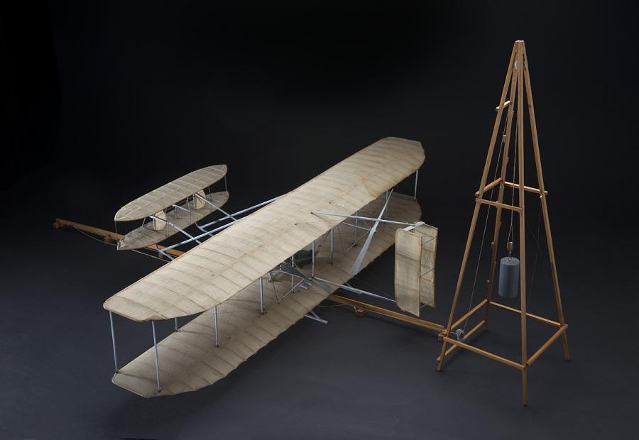 Model, Static, 1905 Flyer, Wright