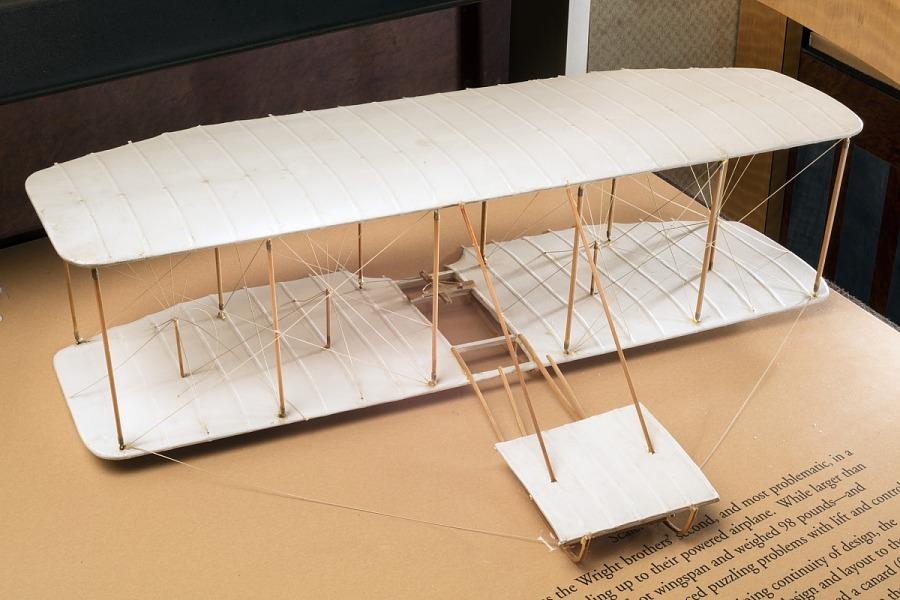 Model, Static, Wright Glider, 1901