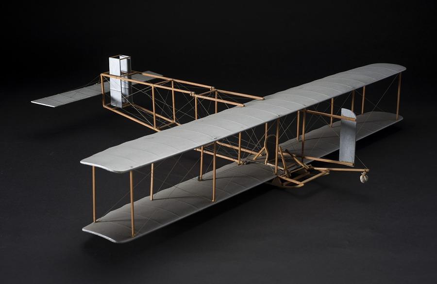 Model, Static, Wright Glider, 1911