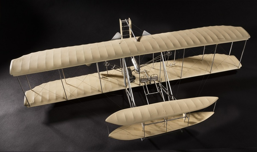 Model, Static, Wright Type A, 1908