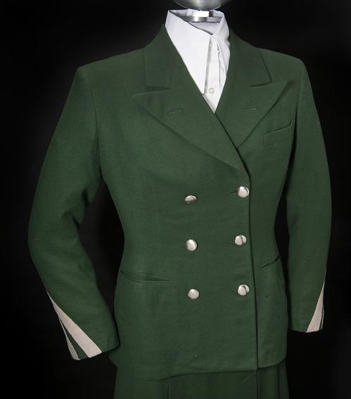 Coat, Stewardess, United Airlines
