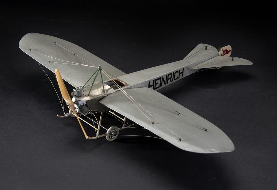 Model, Static, Heinrich Monoplane