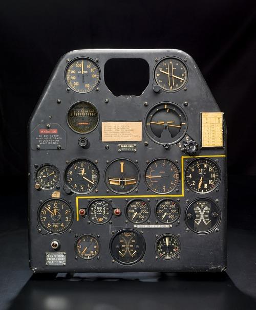 Instrument Panel, P-59A