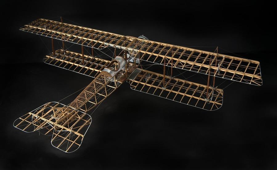 Model, Static, Curtiss JN4-D2