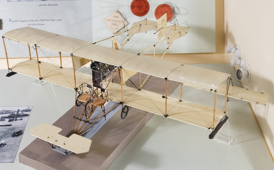 Model, Static, Curtiss A-1