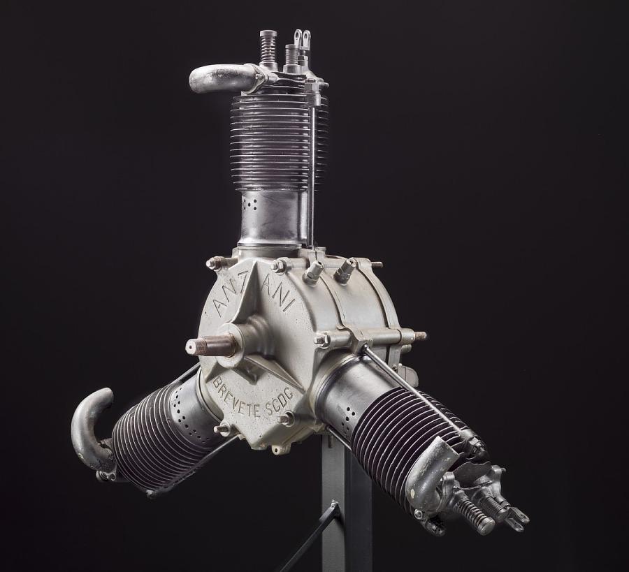 Anzani A 2, Radial 3 Engine