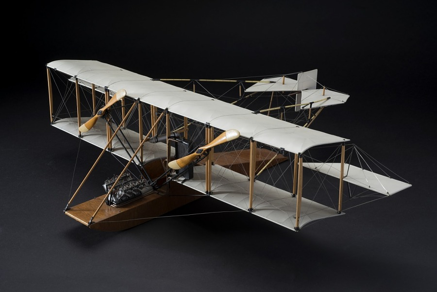 Model, Static, Curtiss Twin Tractor