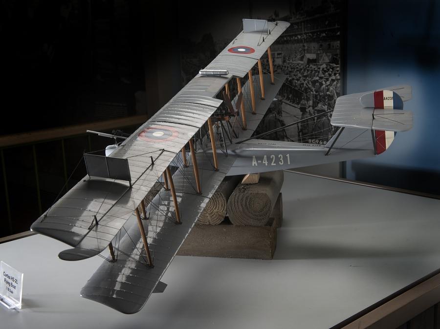 Model, Static, Curtiss HS-2L Flying-Boat