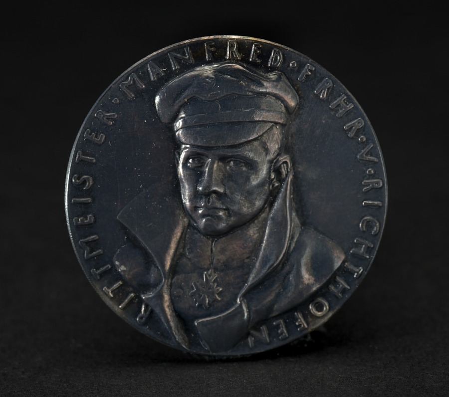 Medal, Commemorative, Manfred von Richthofen