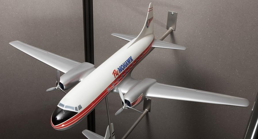 Model, Static, Martin 4-0-4, Mohawk Airlines
