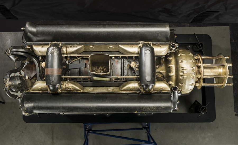 Packard 3A-2500 Geared Drive, V-12 Engine