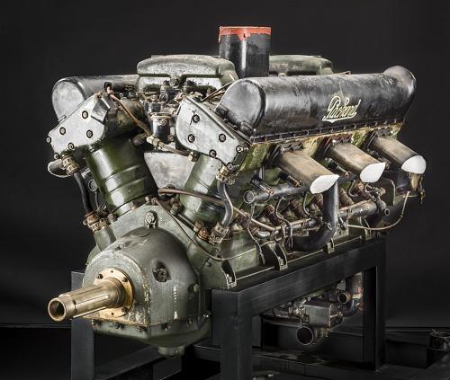 Packard 2A-1500 V-12 Engine