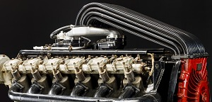 images for Liberty 12 Model A (Packard), Moss Turbosupercharged, V-12 Engine-thumbnail 4
