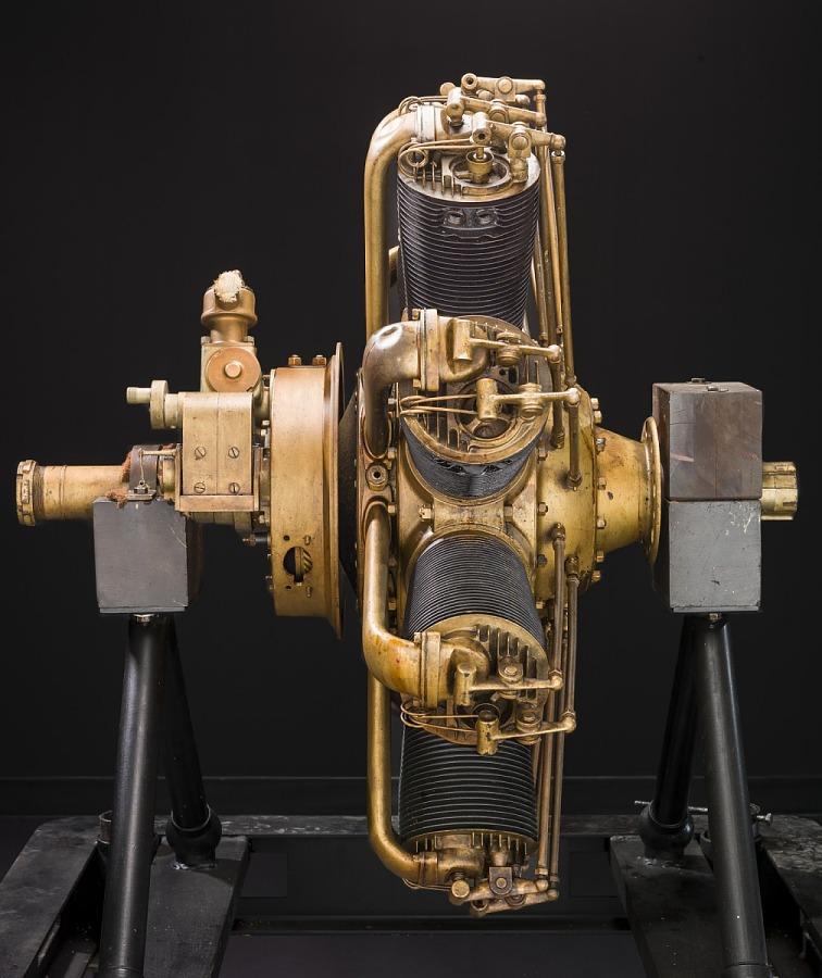Clerget 9B Rotary 9 Engine
