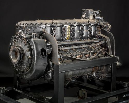 Junkers Jumo 210 D, Inverted V-12 Engine