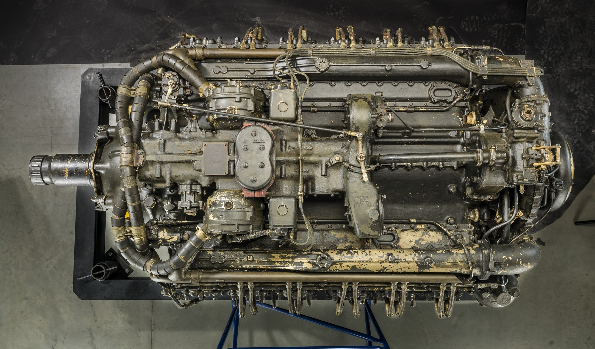 Napier Sabre Iia Horizontally Opposed 24 Engine National Air And Diagram