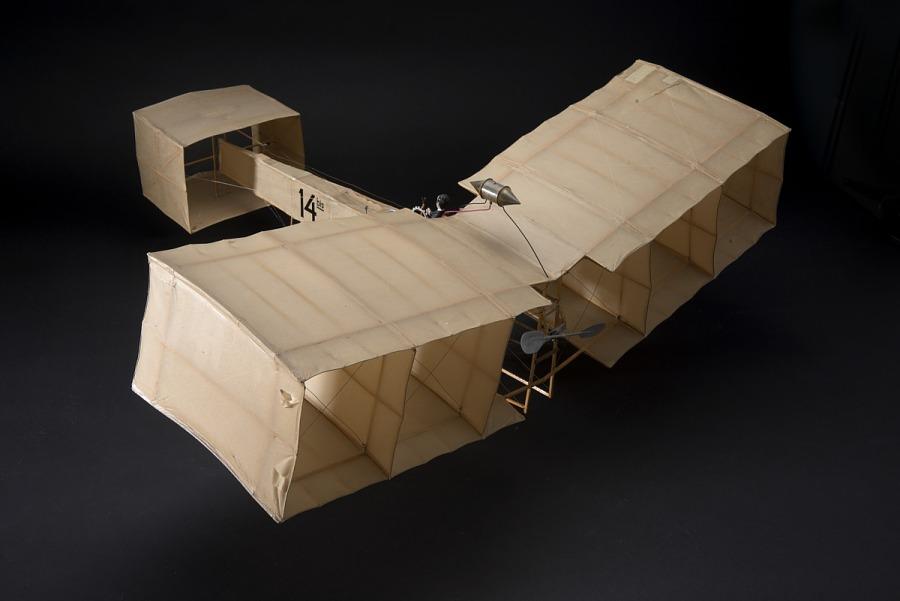 Model, Static, Santos-Dumont '14-Bis'