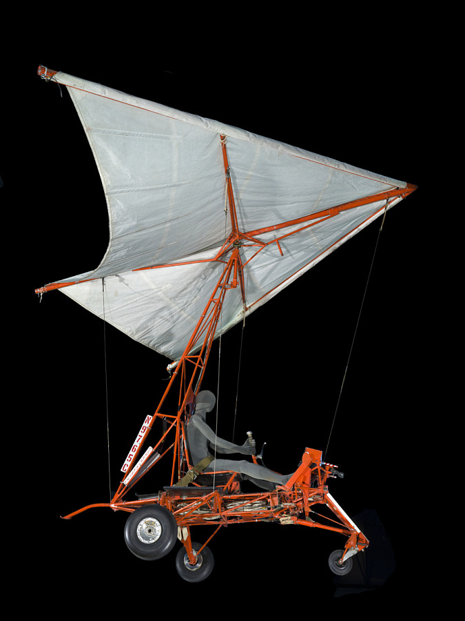 Gemini Paraglider Research Vehicle 1-A with Wing
