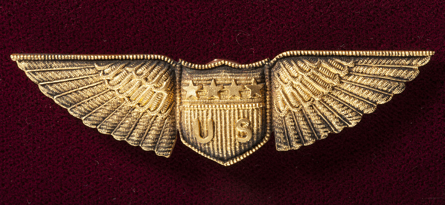 Badge, Miltary Aviator, United States Army Air Service
