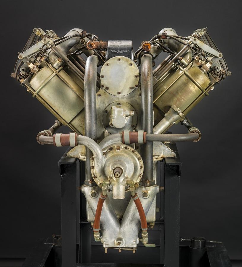Curtiss OXX-6, V-8 Engine