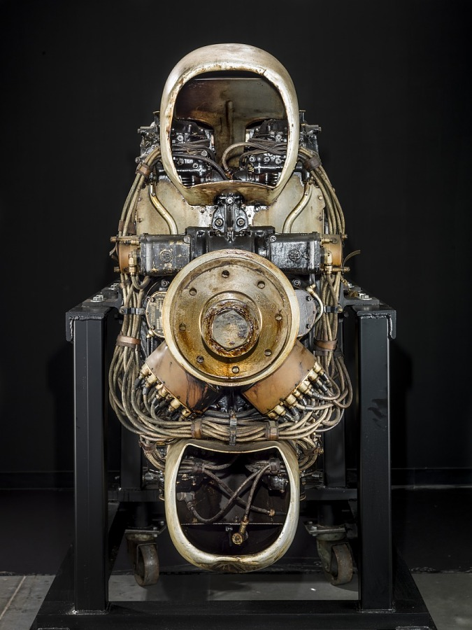 Napier-Halford Dagger Series II, H-24 Engine