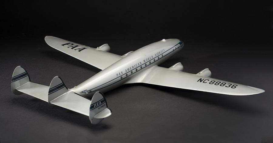 Model, Static, Lockheed L-749 Constellation, Pan American World Airways
