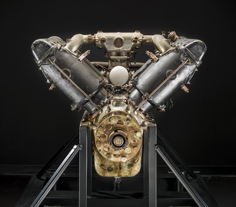 Hispano-Suiza (Wright-Martin E), V-8 Engine