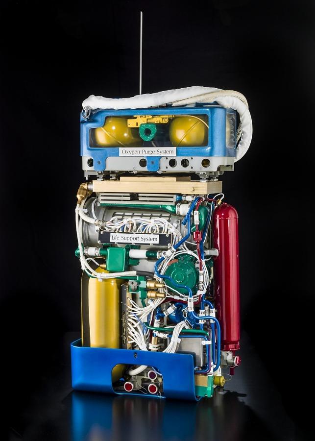 Oxygen Purge System, Apollo, Cutaway
