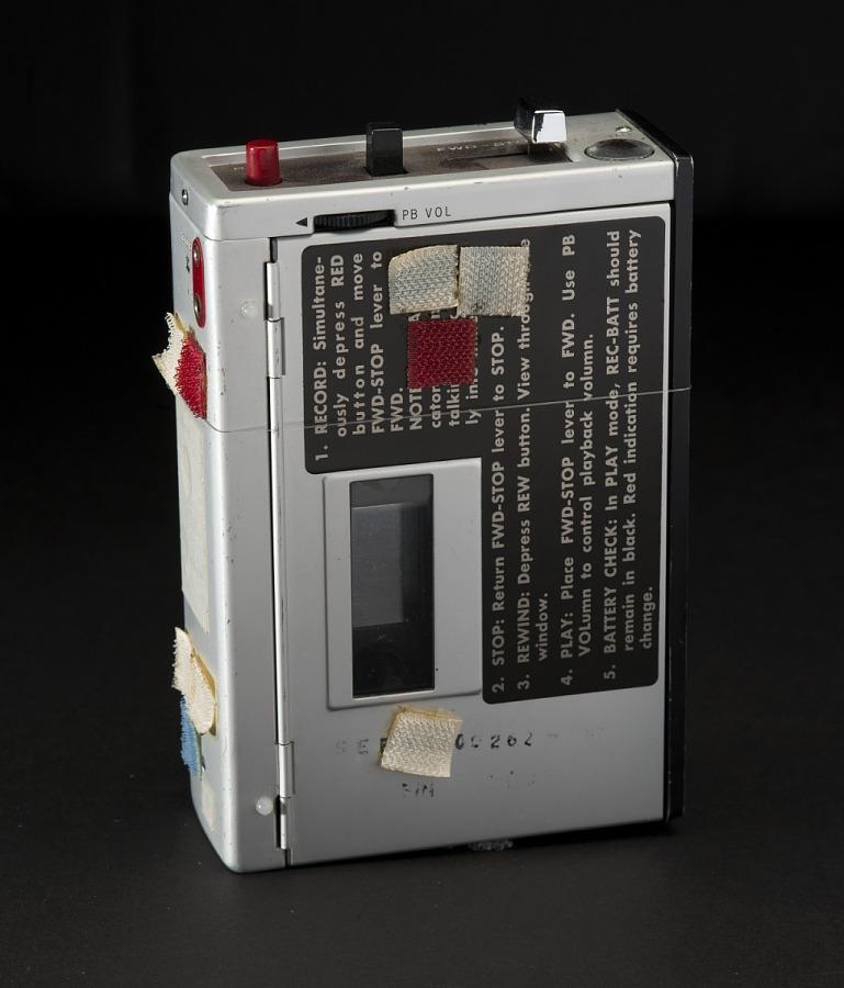 Recorder, Audio Cassette, Apollo 12
