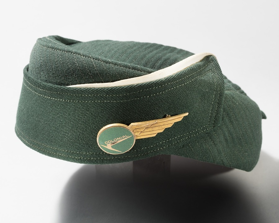 Hat, Flight Attendant, Colonial Airlines
