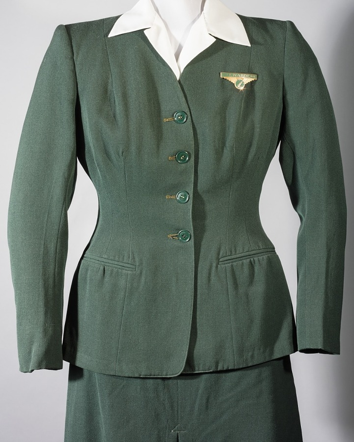 Coat, Flight Attendant, Colonial Airlines