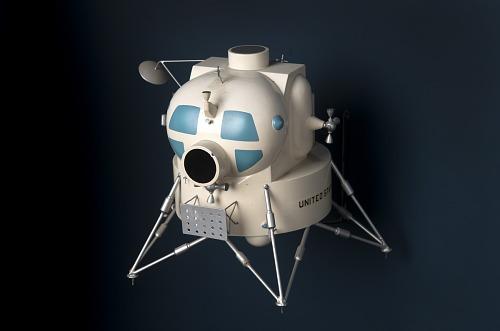 Model, Manned Spacecraft, Lunar Module