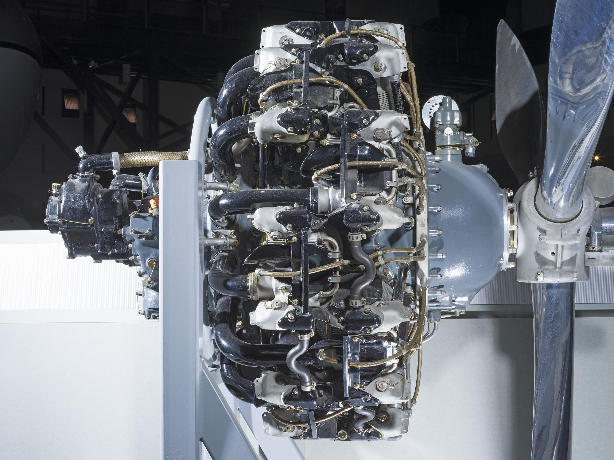 Pratt & Whitney Twin Wasp R-1830-92 Radial Engine | National