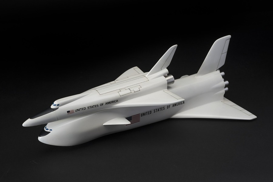 Model, Space Shuttle, North American Rockwell - Convair Fully Reusable, 1:200