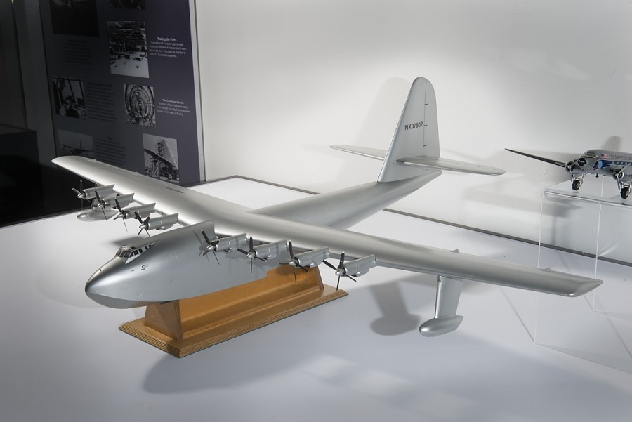 Model, Static, Hughes H-4 Spruce Goose