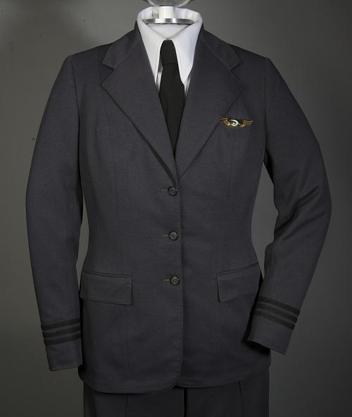 Coat, Pilot, Frontier Airlines, Emily Howell Warner