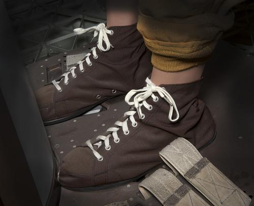Shoes, Restraint, Skylab, Kerwin