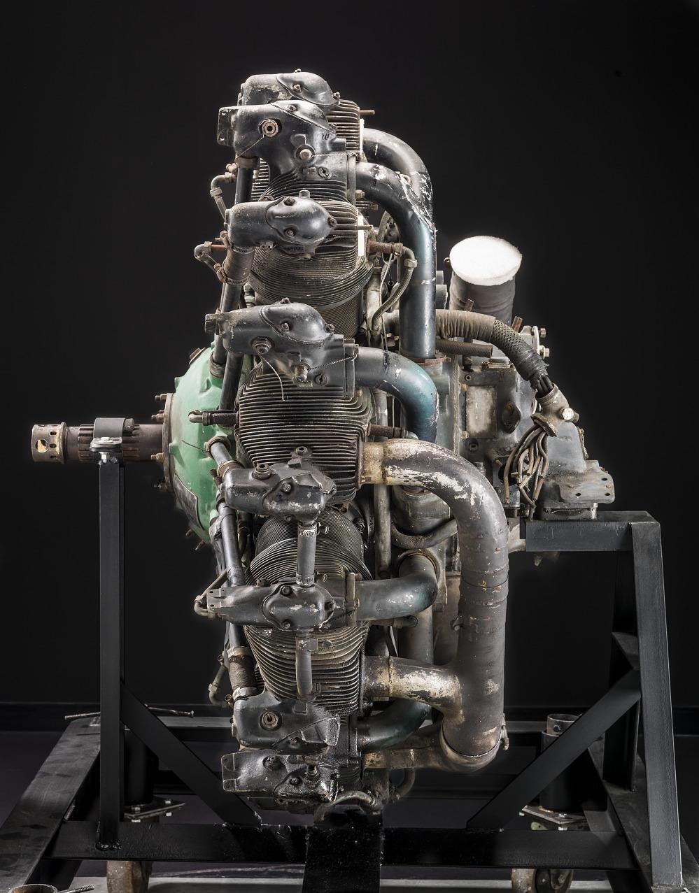 Pratt & Whitney Wasp R-1340 SC1, Radial 9 Engine | National
