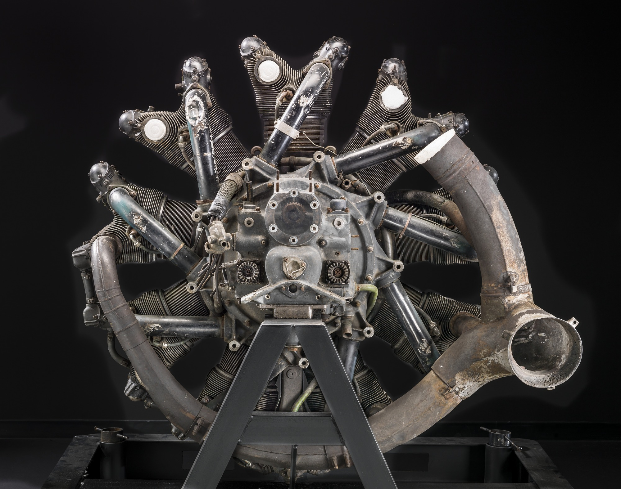 Pratt & Whitney Wasp R-1340 SC1, Radial 9 Engine