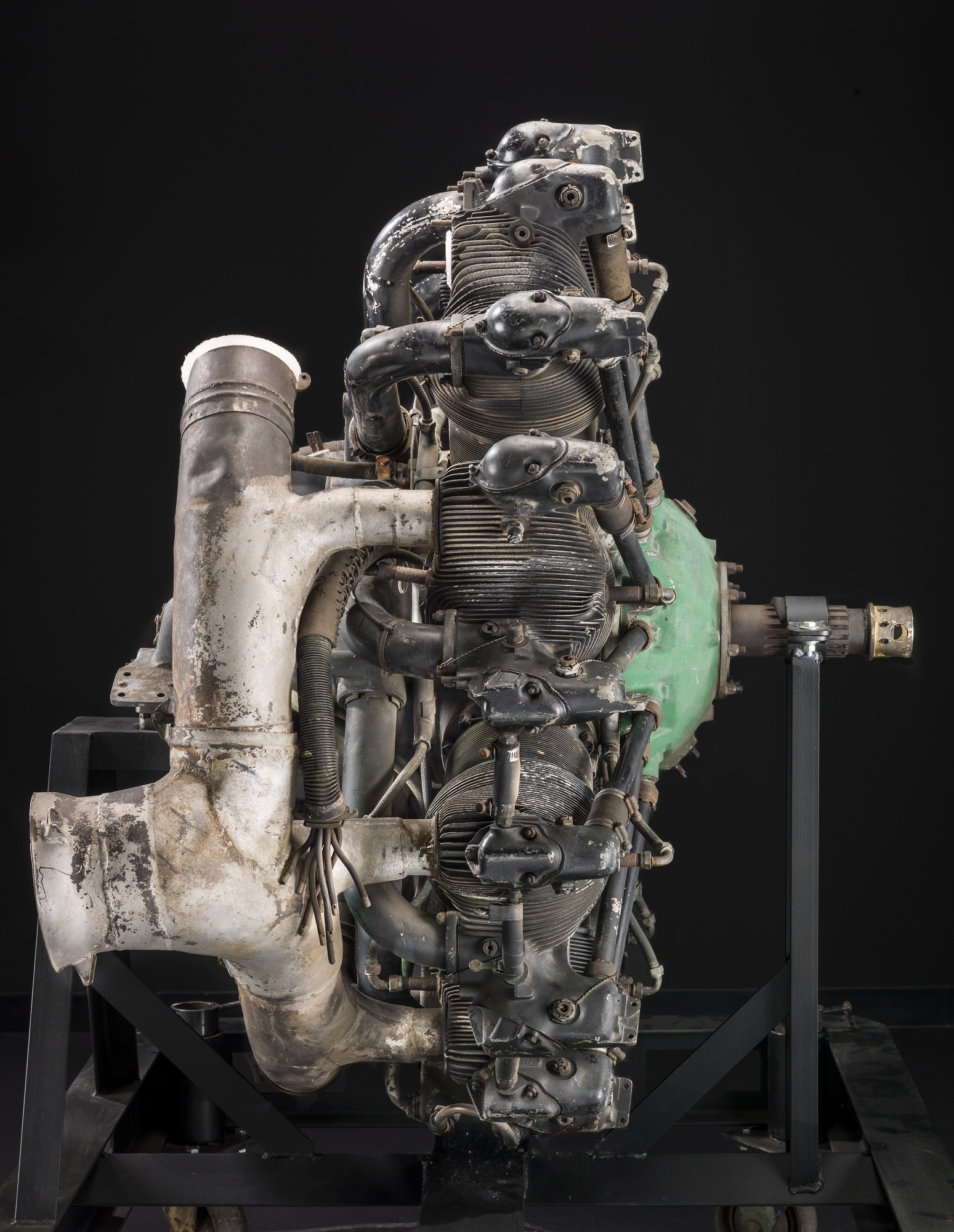 Pratt & Whitney Wasp R-1340 SC1, Radial 9 Engine | National Air and